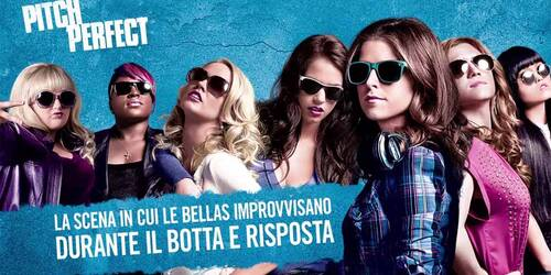 Pitch Perfect - Clip Bellas improvvisano durante il Botta e Risposta