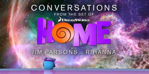 Home - A casa: video intervista a Rihanna e Jim Parsons
