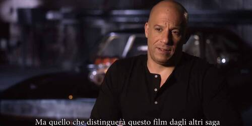 Fast and Furious 7 - Intervista a Vin Diesel