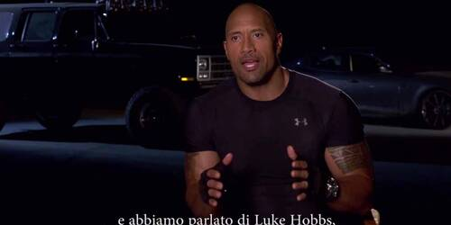 Fast and Furious 7 - Intervista a Dwayne Johnson