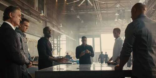 Fast and Furious 7 - Clip Il piano di Roman