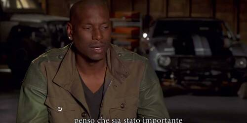 Fast and Furious 7 - Intervista a Tyrese Gibson