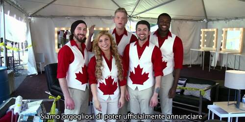 Pitch Perfect 2 - I Pentatonix sul set