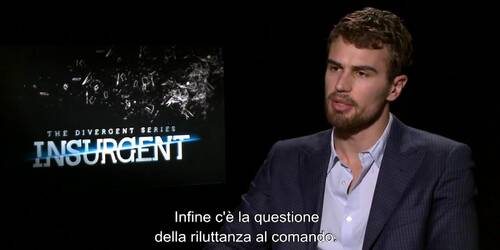Insurgent - Intervista a Theo James