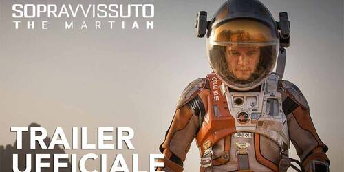 The Martian - Trailer italiano