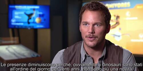 Jurassic World - Intervista a Chris Pratt