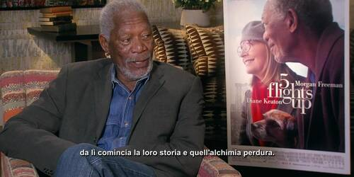 Ruth and Alex - intervista a Morgan Freeman