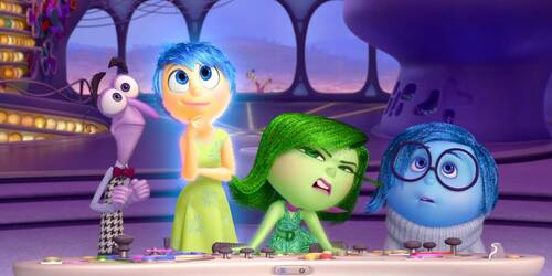 Inside Out - Clip Disgusto e Rabbia