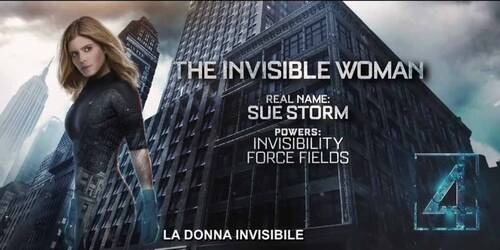 Featurette Sue Storm: la donna invisibile - Fantastic 4 - I Fantastici Quattro