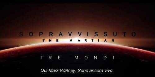 Sopravvissuto: The martian - Featurette Tre mondi