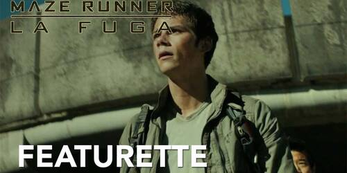 Maze Runner: La Fuga - Featurette James Dashner Set Visit