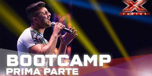X Factor 2015 - Giovanni Sada - BootCamp