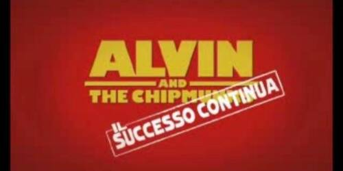Alvin superstar 2 - Backstage 1 parte