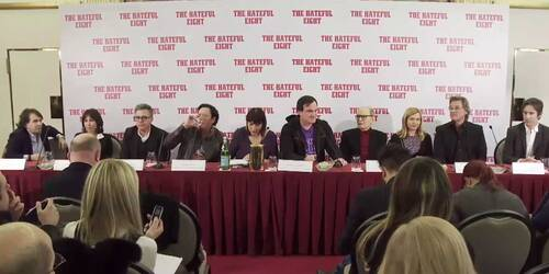 The Hateful Eight - Video Conferenza Stampa a Roma Quentin Tarantino