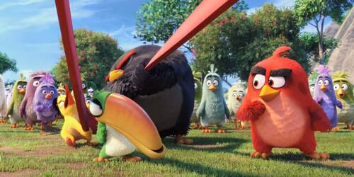 Angry Birds Il Film - Clip Missile in arrivo