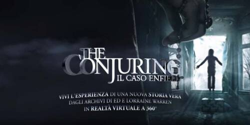 The Conjuring - Il caso Enfield: Video in Realtà Virtuale a 360 gradi