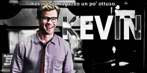 Ghostbusters - Chris Hemsworth e' Kevin