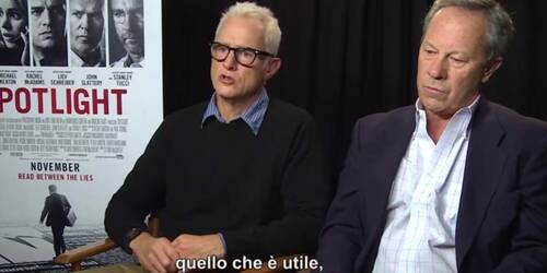 Il Caso Spotlight - Video intervista a Brian D'Arcy James e Matt Carroll