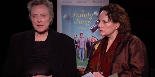 La famiglia Fang - Intervista a Christopher Walken e Maryann Plunkett