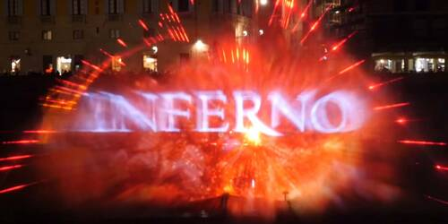 Inferno - Water Screen a Ponte Vecchio