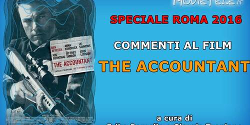 Roma 2016: The Accountant, commento al film