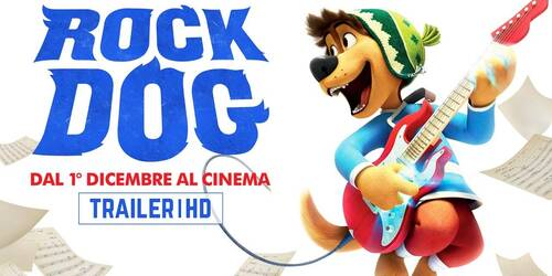 Rock Dog Trailer italiano