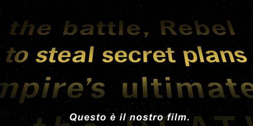 Featurette A Star Wars Story per Rogue One: A Star Wars Story