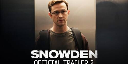 Snowden - Trailer 2 (Comic-Con)