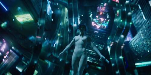 Spot Big Game di Ghost in the Shell con Scarlett Johansson