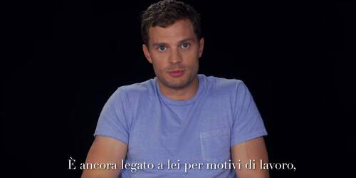 Backstage del Compleanno di Christian Grey da 50 Sfumature di Nero