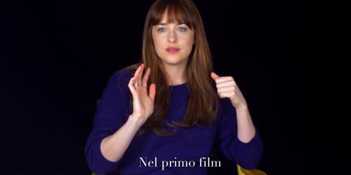 Cinquanta sfumature di Nero - Intervista a Dakota Johnson