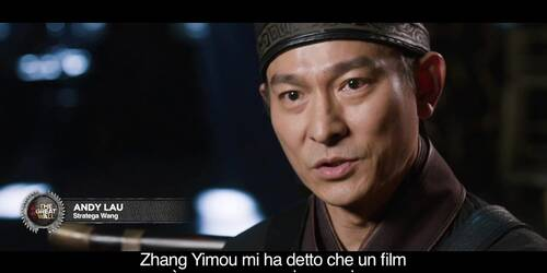 The Great Wall - Sul set con il regista Zhang Yimou