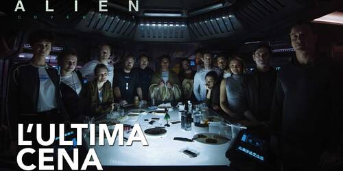 Clip L'ultima cena da Alien: Covenant
