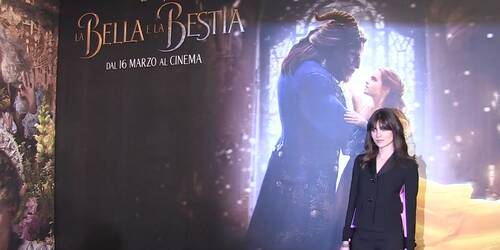 La bella e la bestia, Video dalla Premiere italiana a Milano