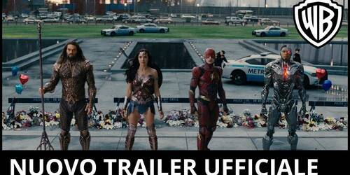 Justice League - Secondo Trailer italiano