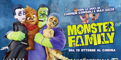 Monster Family - Trailer italiano