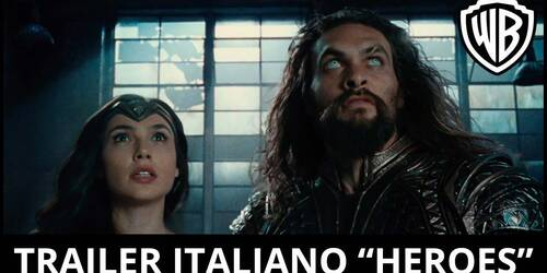 Justice League - Trailer italiano Heroes