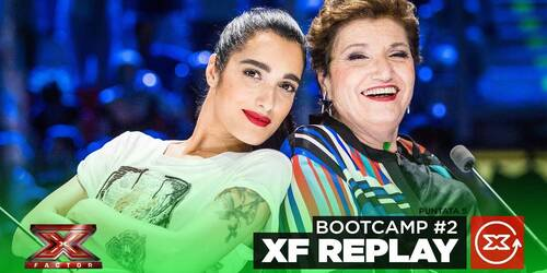 X Factor 2019, il Bootcamp di Malika (Under Uomini) e Mara (Over)