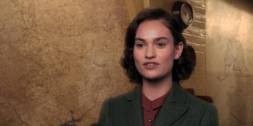 L'ora più buia - Intervista a Lily James