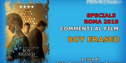 Boy Erased, Video Recensione da Roma 2018