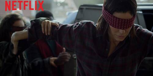 Bird Box, Trailer film Netflix con Sandra Bullock