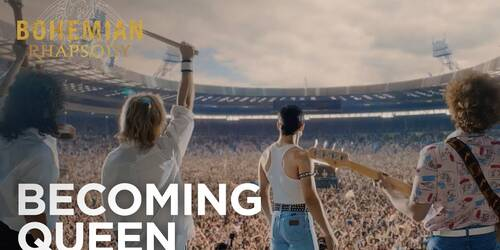 Bohemian Rhapsody, Featurette Becoming Queen