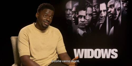 Widows - Eredità Criminale, Video Intervista a Daniel Kaluuya