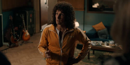 Clip We will rock you! dal film Bohemian Rhapsody