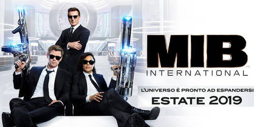Trailer italiano Men in Black International