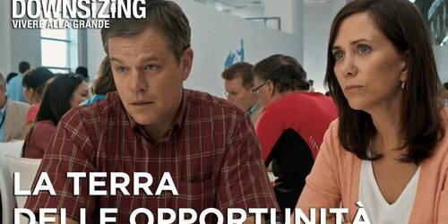 Downsizing - Clip Il ridimensionamento di Paul