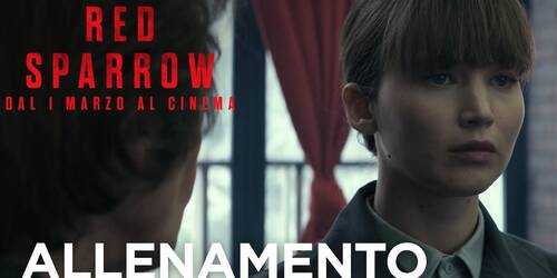 Clip Allenamento dal film Red Sparrow