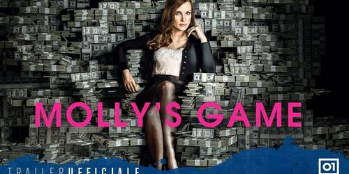 Molly's Game, Trailer italiano