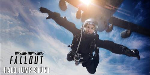 Halo Jump, Featurette da Mission: Impossible - Fallout
