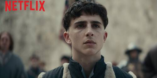 The King, Teaser trailer del film di David Michod con Timothee Chalamet